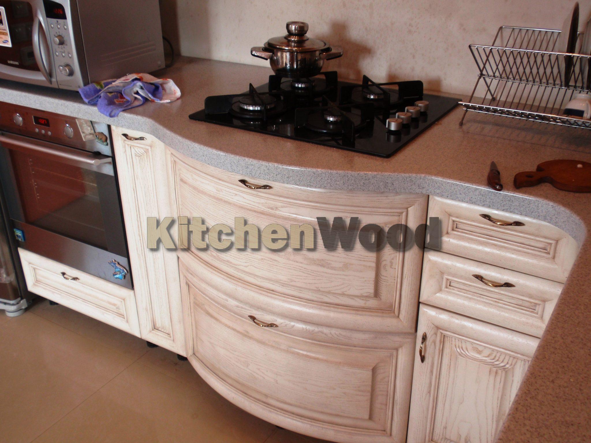 кухни из дерева цены и фото