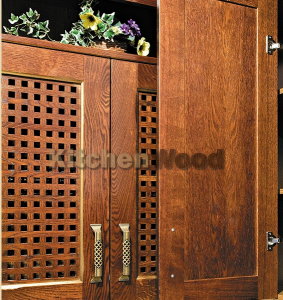 Fasad iz dereva 283x300 - Галерея кухонь из массива