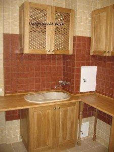 IMG 6451 225x300 - Галерея кухонь из массива
