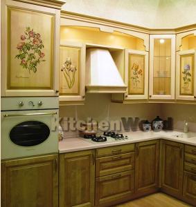 Kuhnya iz dereva 283x300 - Галерея кухонь из массива
