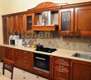 kuhnya davis 01 300x263 - Галерея кухонь из массива