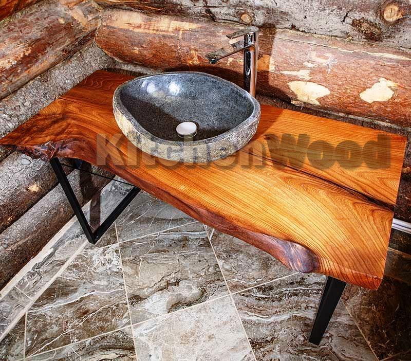 konsol bani 2 01 - Столешницы из дерева на заказ