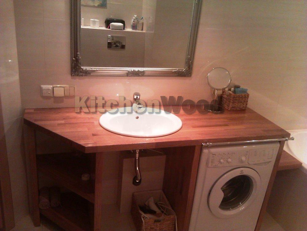 3706822 - Столешница из дерева в ванную