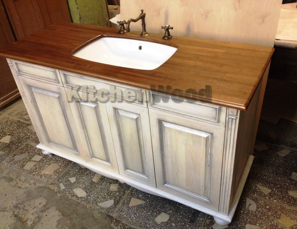 8509043b9d67785be6cc3104f8ir chest of drawers 99 pedestal bathroom sink - Столешница из ореха