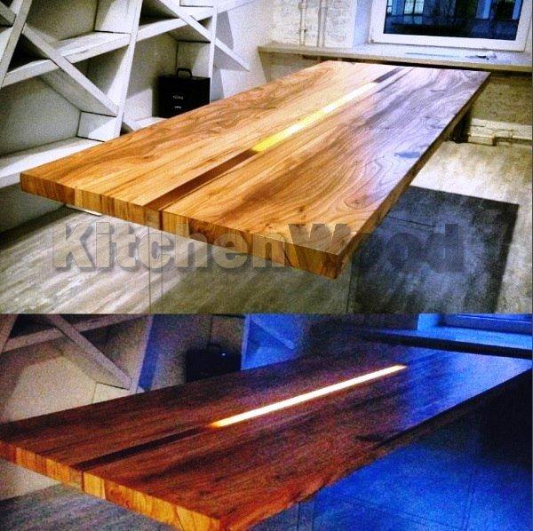 Столешница из дерева на заказ Запорожье