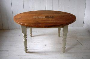 Circular Wooden Table TB0329a 300x199 - Столы из массива дерева на заказ