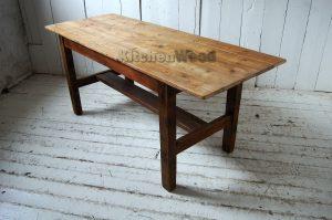Rustic Wooden Table TB0611a 300x199 - Столы из массива дерева на заказ