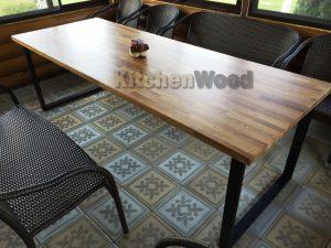 loft1 1 300x225 - Столы из массива дерева на заказ