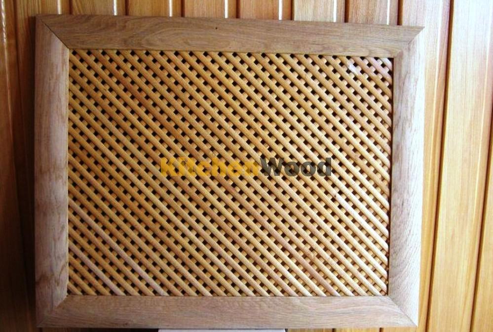 Деревянные решетки для радиаторов